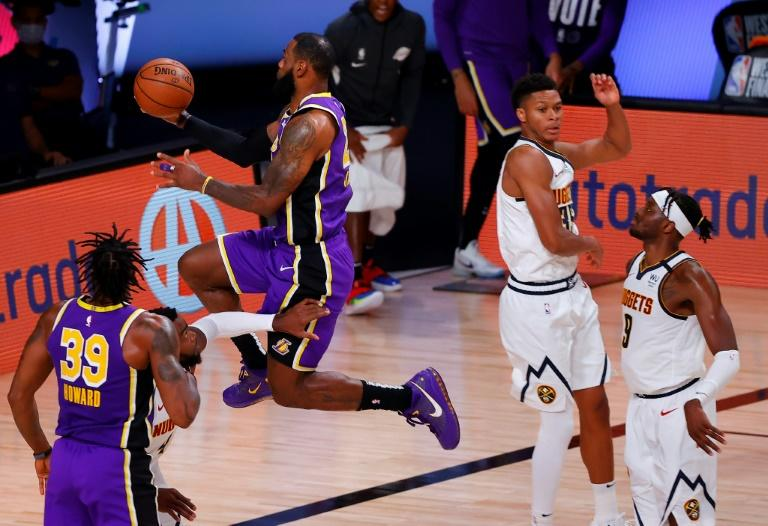 LeBron powers Lakers past Nuggets into NBA Finals