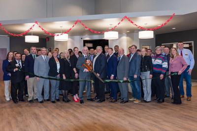 On Thursday, February 6, Landmark Credit Union celebrated a ribbon cutting ceremony for the credit union's new branch in the Town of Brookfield, Wis.