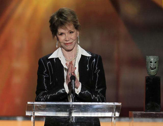 "<p>The beloved actress best known for her starring role on ""The Mary Tyler Moore Show"" died on Jan. 25. Moore, who was 80, earned an Oscar nomination for her role in ""Ordinary People."" (Photo: Lucy Nicholson/Reuters) </p>"