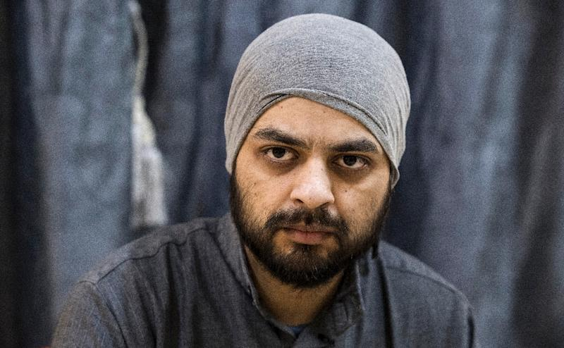Mohammad Ali, a 28-year-old Canadian jihadist captured by the US-backed Syrian Democratic Forces (SDF), speaks to AFP at a detention centre in the northeastern Syrian city of Hasakeh on February 10, 2019 (AFP Photo/FADEL SENNA)