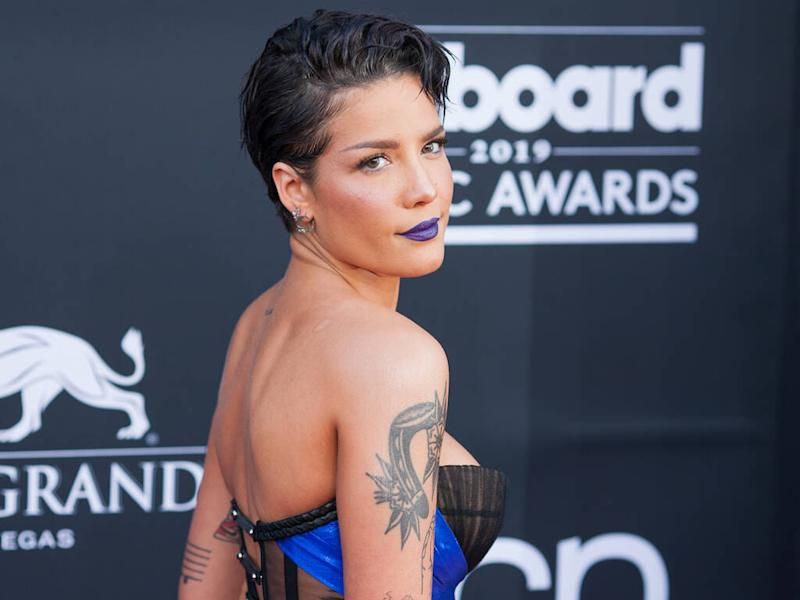 Halsey received rape threats after same-sex dance