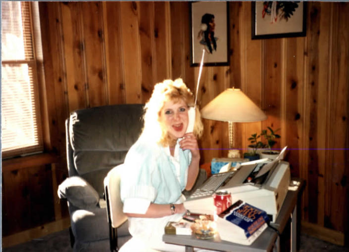 This undated photo provided by the Pitts family shows Pamela Pitts at the Pitts family home outside Prescott, Ariz. Pitts' then-roommate, Shelly Harmon, recently confessed to killing Pitts in 1988 and was sentenced to time she already had served in another killing. (Pitts family via AP)