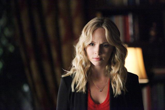 "Candice Accola as Caroline in ""Memorial,"" the second episode of ""The Vampire Diaries"" Season 4."