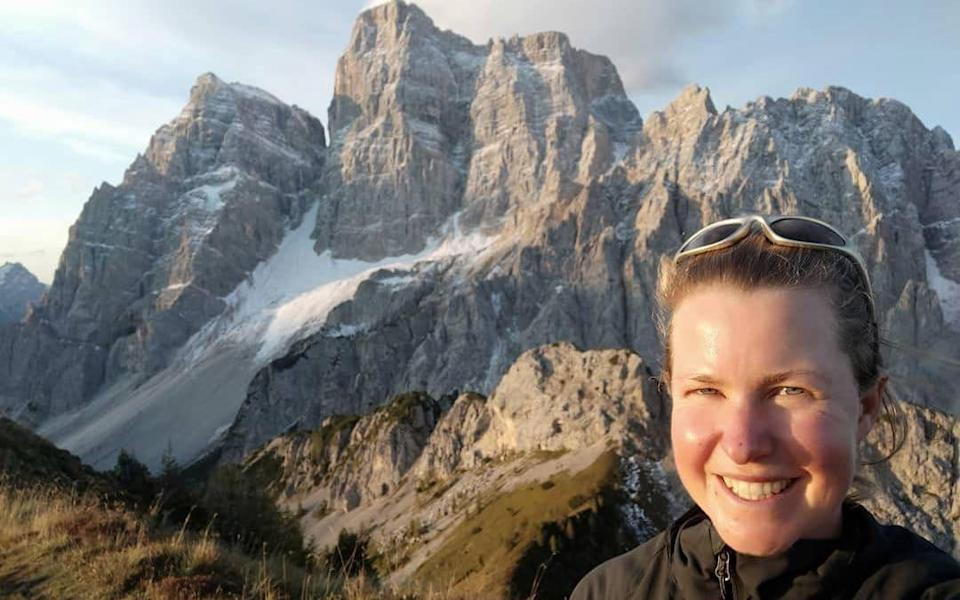Esther Dingley had been due to end her solo trek on Wednesday