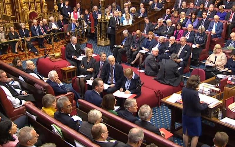 House of Lords - Credit: PA