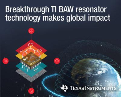 Designers can leverage innovative chips with TI BAW technology to shrink BOM, improve network performance and increase immunity to vibration and shock