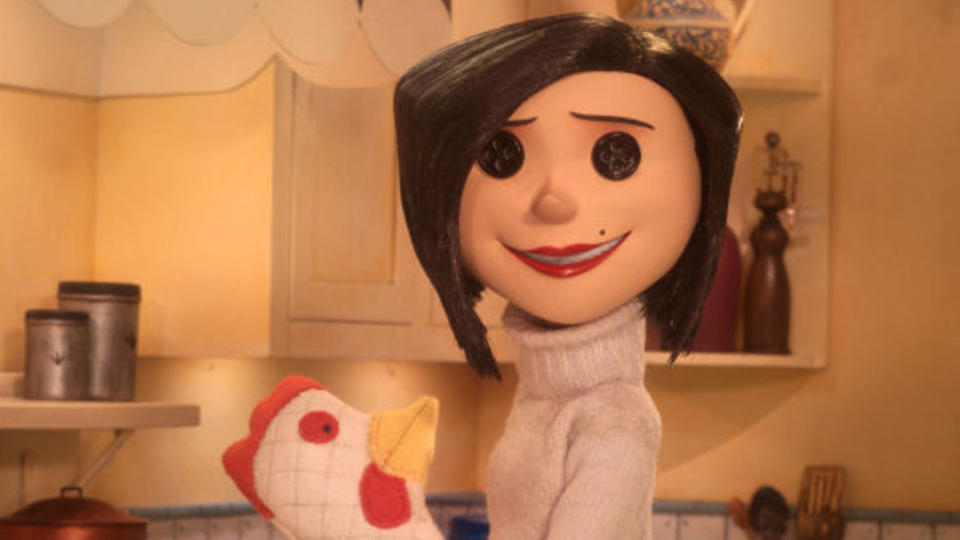 The Other Mother in 'Coraline'. (Credit: Laika/Focus Features)