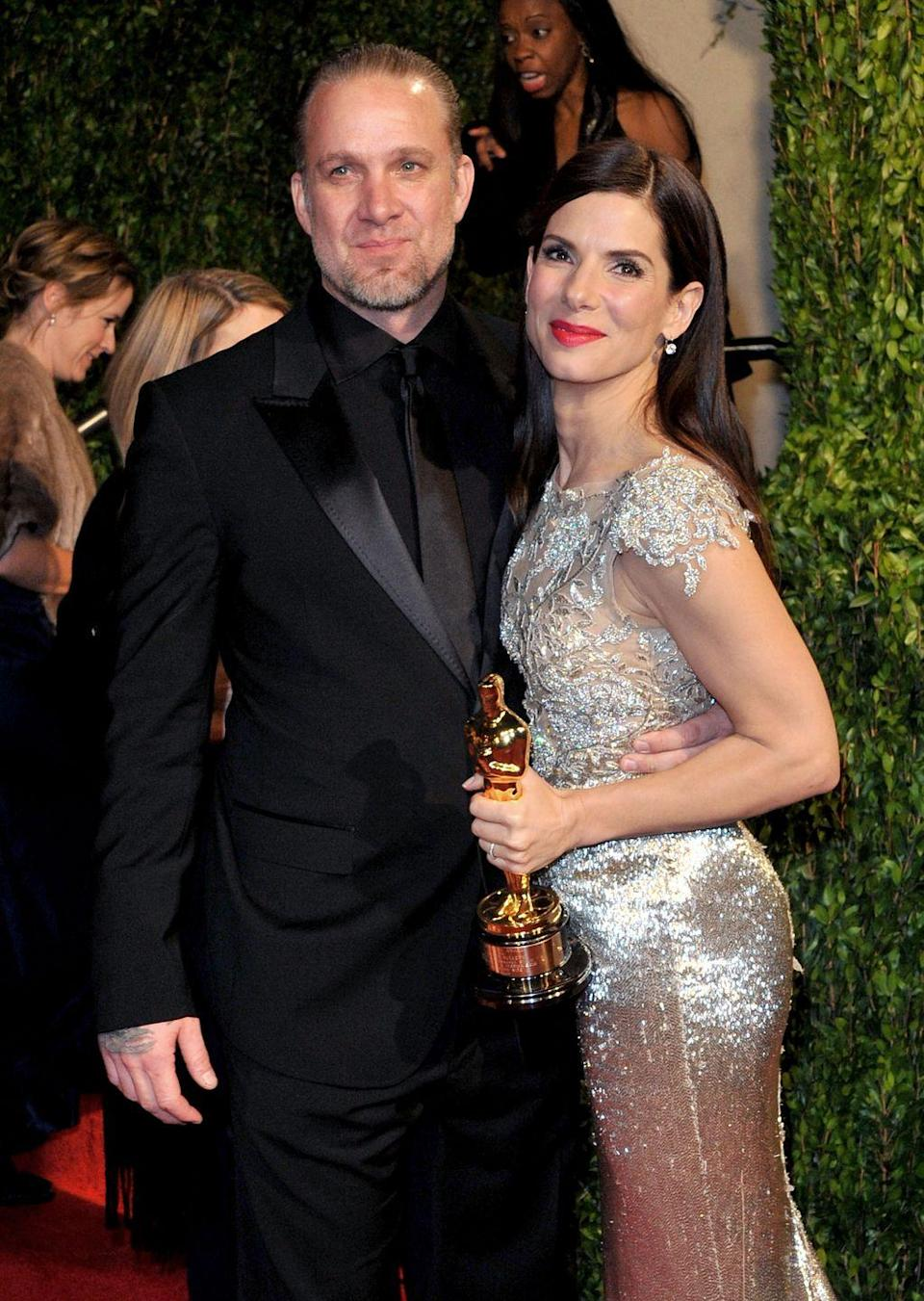 "<p>In 2010, at least four women came forward to say they had affairs with James while he was still married to Sandra Bullock. In an interview with the <em><a href=""http://www.dailymail.co.uk/news/article-4309988/No-regrets-says-Sandra-Bullock-s-cheating-ex-Jesse-James.html"" rel=""nofollow noopener"" target=""_blank"" data-ylk=""slk:Daily Mail"" class=""link rapid-noclick-resp"">Daily Mail</a>, </em>James admitted to cheating. ""Yeah, I did cheat on my wife, yeah, I stood up and took accountability for it and apologized. And that's the end of story,"" he said.</p>"