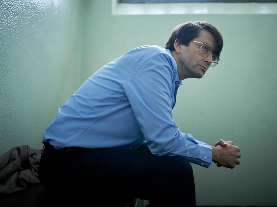 David Tennant as Dennis Nilsen in ITV's 'Des' (ITV)