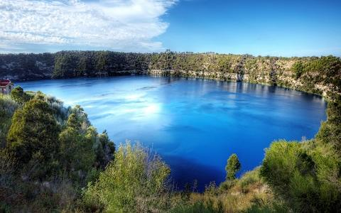 The Blue Lake - Credit: getty