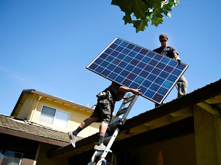 Sunrun solar installation