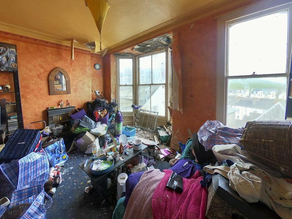 Estate agents have warned buyers the home is not for the faint-hearted (Picture: SWNS)