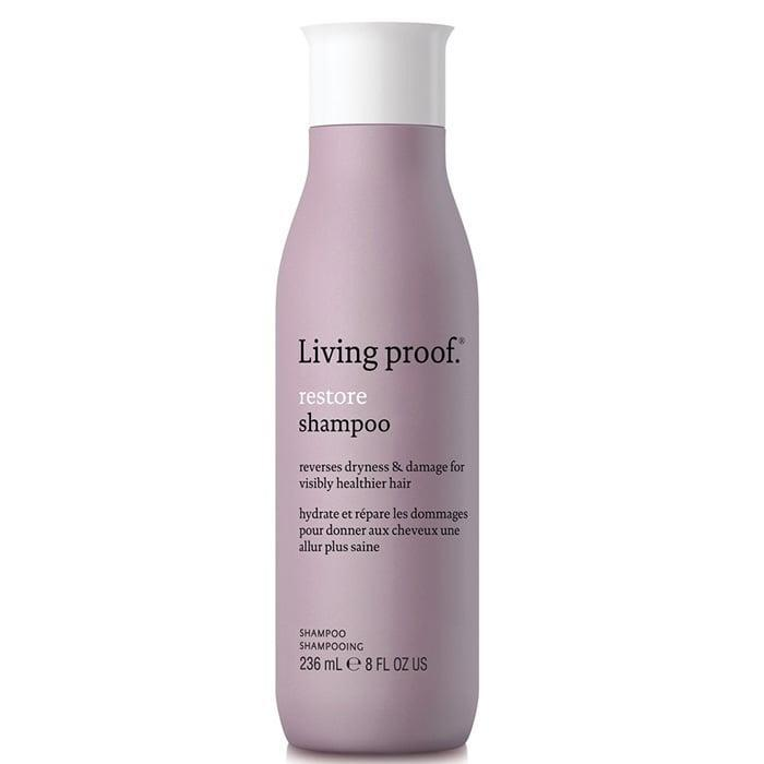 <p>Living Proof's answer to dry, damaged hair is the <span>Living Proof Restore Shampoo</span> ($29), which helps to restore hair and become resistant to future breakage.</p>