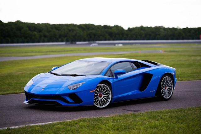 The 2018 Lamborghini Aventador S. Courtesy Lamborghini