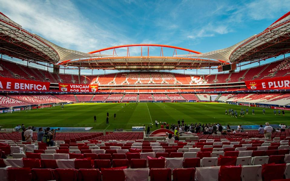 Lisbon's Estadio da Luz will host the 2020 Champions League final -Ahead of the Champions League final stages, football is readying itself to experience a 'very different Lisbon' - GETTY IMAGES