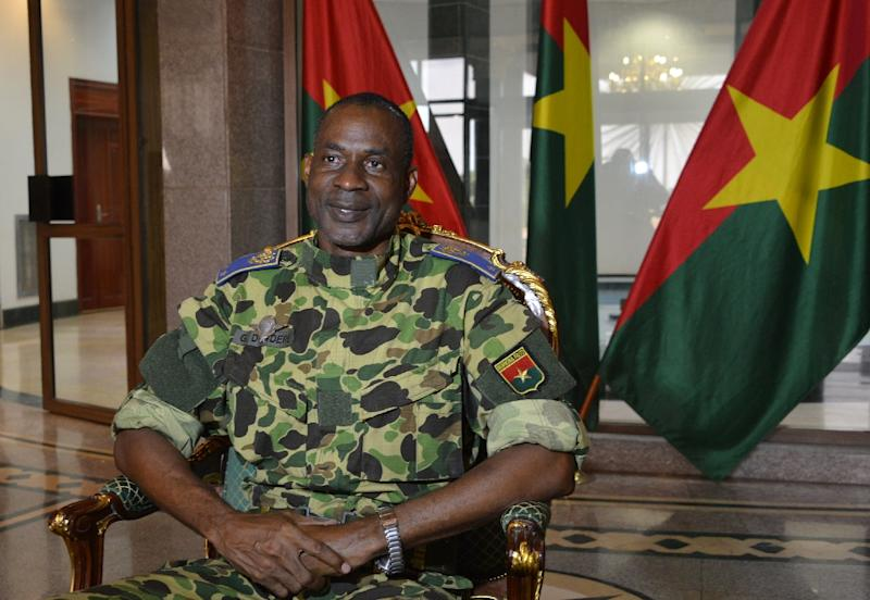 General Gilbert Diendere is charged with treason, murder and threatening state security (AFP Photo/Ahmed OUOBA)