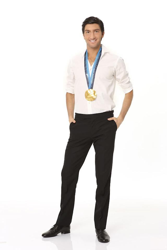 """Figure skating Olympic gold medalist Evan Lysacek will compete on the tenth season of """"Dancing With the Stars."""""""