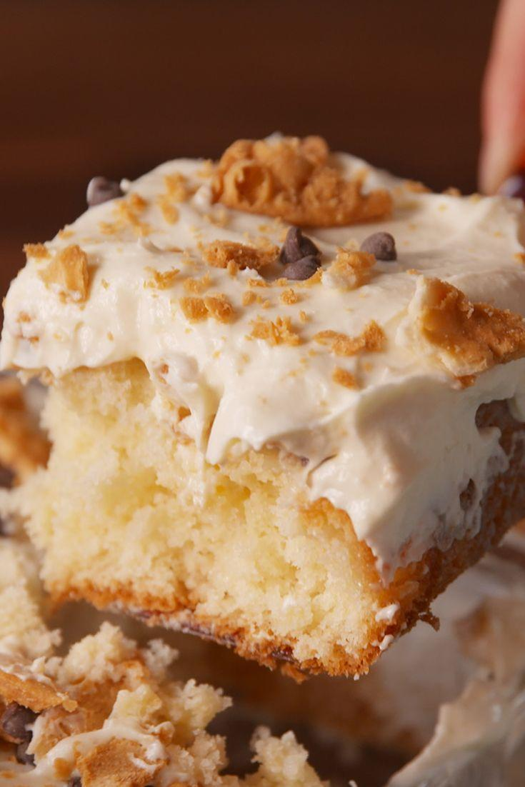 """<p>Cannoli is breaking out of its shell and we aren't mad about it.</p><p>Get the recipe from <a href=""""https://www.delish.com/cooking/recipe-ideas/recipes/a50372/cannoli-poke-cake-recipe/"""" rel=""""nofollow noopener"""" target=""""_blank"""" data-ylk=""""slk:Delish"""" class=""""link rapid-noclick-resp"""">Delish</a>.</p>"""