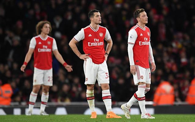 Arsenal's season is in a tailspin, but is it about to get even worse? - REX