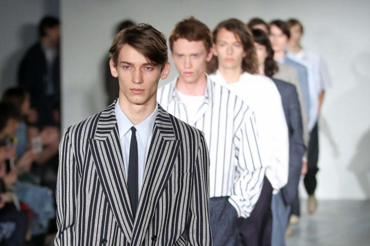 7a76acabaf268a E. Tautz SS18 was inspired by Japan s 1979 album  Quiet Life   Photo  Mike  Marsland WireImage