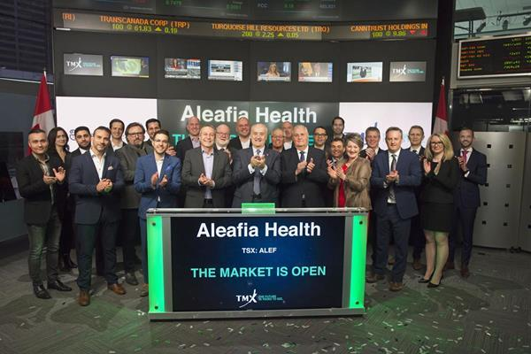 Aleafia Health Opens the Market:In recognition of successfully graduating to the Toronto Stock Exchange, Aleafia Health joined the TSX to open the market.