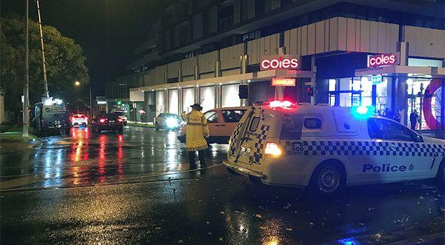The man held a woman hostage for several hours at the serviced apartment. Photo: AAP