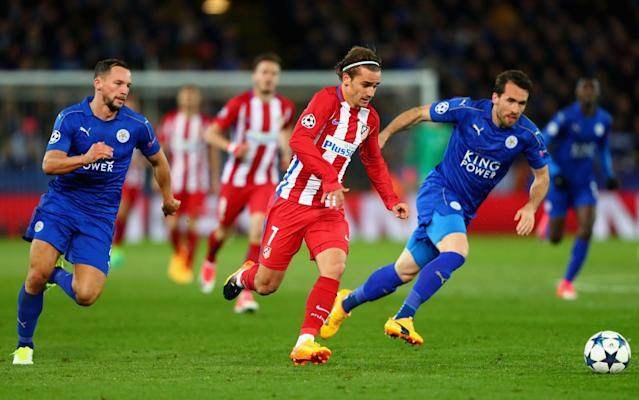 <span>No wonder they call Antoine Griezmann 'the Swiss Army knife'</span> <span>Credit: Clive Rose/Getty Images </span>