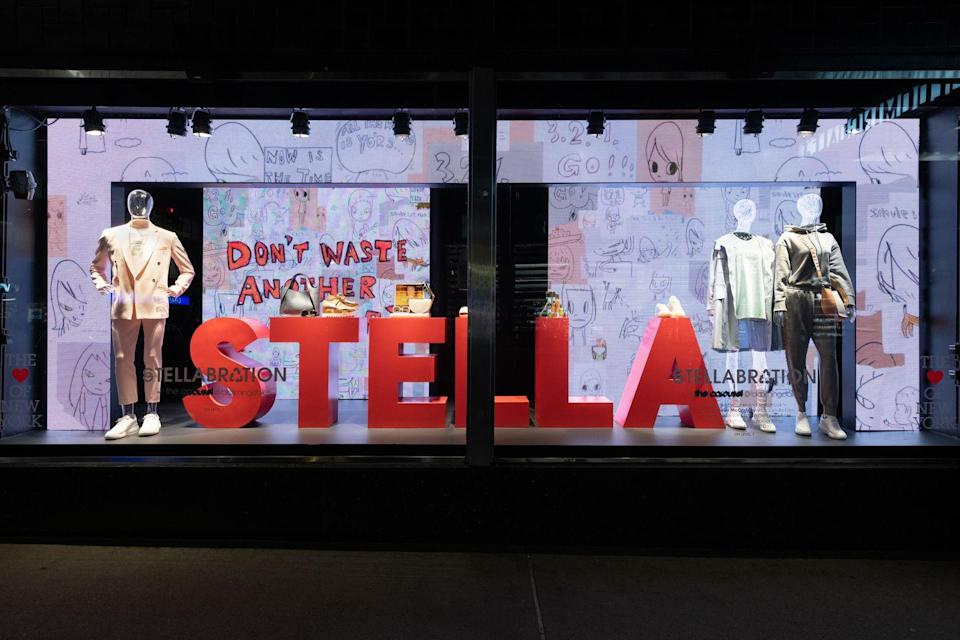 """<p><strong>Who:</strong> Bloomingdale's & Stella McCartney<strong><br></strong></p><p><strong>What:</strong> """"Stellabration"""", The Carousel Pop-Up </p><p><strong>Where:</strong> Online at bloomingdales.com, select stores (NY & CA) </p><p><strong>Why:</strong> In its latest Carousel Pop-Up, Bloomingdale's invites a taste of spring with """"Stellabration"""". Shoppers will browse a curated assortment of brands & products chosen by Stella herself – from her own SS21 collection and beauty must-haves to home goods and snacks. Better yet, all of """"Stellabration"""" supports and uplifts Stella's eco-conscious ethos & leadership in sustainability efforts. Just in time for Earth Month! Stocked among giant video walls displaying exclusive Stella McCartney animation & illustrations by Japanese artist Yoshitomo Nara, in-person shoppers will be fully immersed in a Stella-approved world. Stop into the store or shop the site, now through May 17th.</p><p><a class=""""link rapid-noclick-resp"""" href=""""https://go.redirectingat.com?id=74968X1596630&url=https%3A%2F%2Fwww.bloomingdales.com%2Fc%2Feditorial%2Fcarousel%2Fstellabration%2F&sref=https%3A%2F%2Fwww.elle.com%2Ffashion%2Fshopping%2Fg35685914%2Fmarch-2021-fashion-collaborations-launches%2F"""" rel=""""nofollow noopener"""" target=""""_blank"""" data-ylk=""""slk:SHOP NOW"""">SHOP NOW</a></p>"""