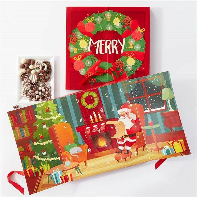 """<p>Though you can find advent calendars filled with just about anything these days, traditional chocolate-filled ones might still be our favorites. If you agree and are looking for some 2021 options, well, you've come to the right place. Behold, more than a dozen chocolate-filled <a href=""""https://www.delish.com/holiday-recipes/christmas/g2575/classic-dinner-recipes/"""" rel=""""nofollow noopener"""" target=""""_blank"""" data-ylk=""""slk:Christmas countdowns"""" class=""""link rapid-noclick-resp"""">Christmas countdowns</a> that you can bring home for the holidays. (Because not everyone is of <a href=""""https://www.delish.com/food-news/a23568965/twelve-nights-of-wine-box/"""" rel=""""nofollow noopener"""" target=""""_blank"""" data-ylk=""""slk:booze-appropriate age"""" class=""""link rapid-noclick-resp"""">booze-appropriate age</a>.) Don't say we never gave you anything 💝</p>"""