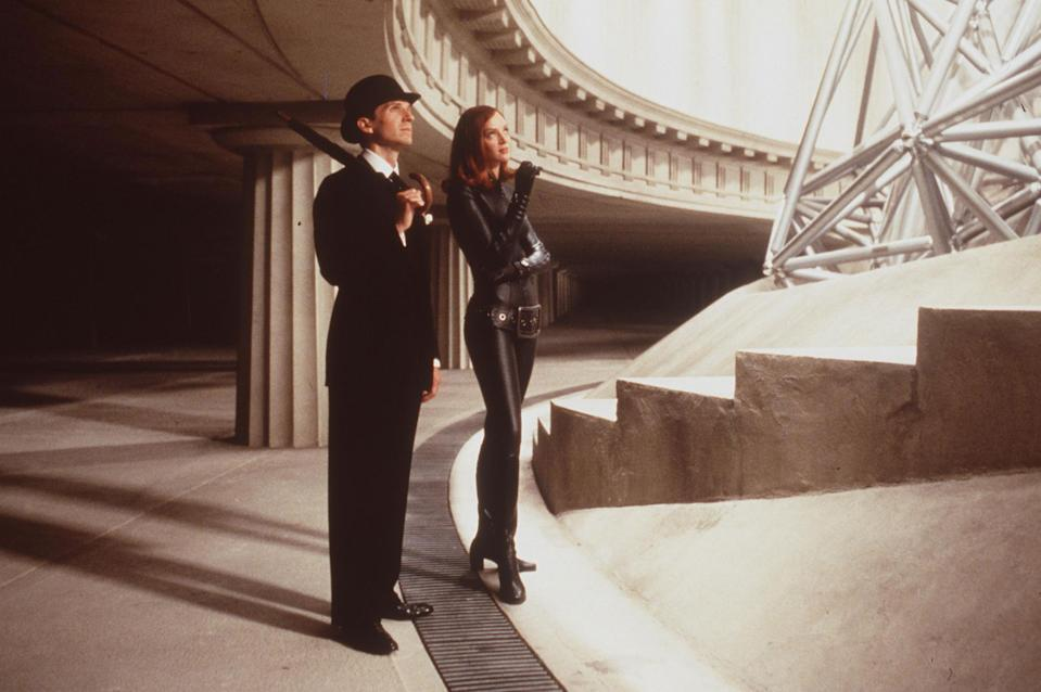 Ralph Fiennes and Uma Thurman in The Avengers (Getty Images)