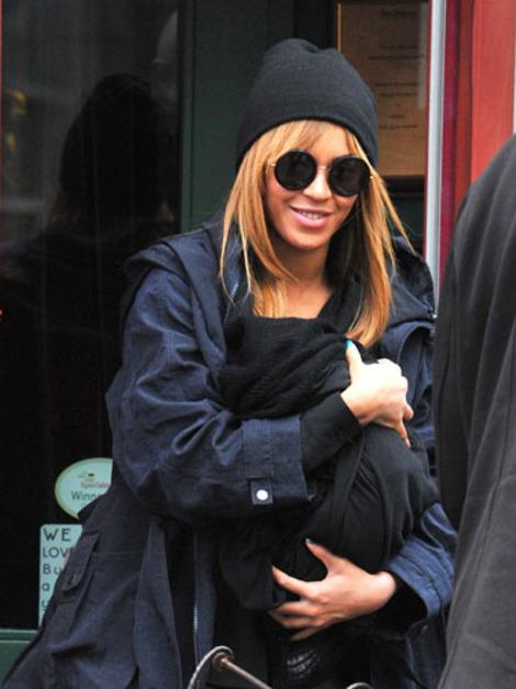 Beyonce with Blue Ivy Carter.