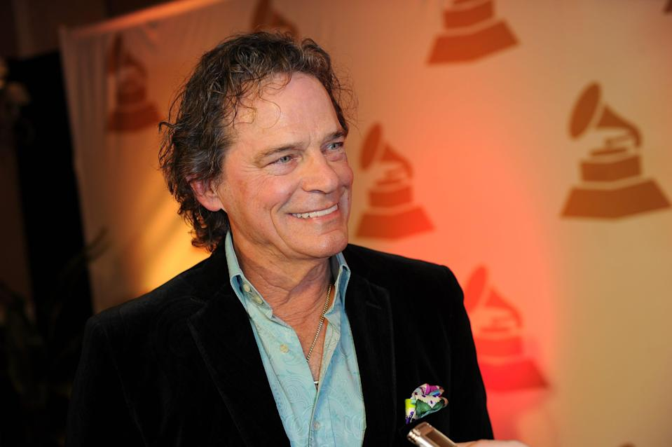 B.J. Thomas arrives at the Nashville Grammy Nominees party on Jan. 12, 2014, in Tennessee.