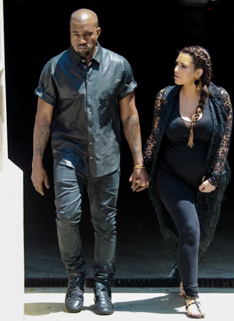 Kim Kardashian And Kanye West 'Enjoying Privacy With Baby North, Want Every Minute To Themselves'