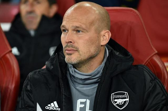 Freddie Ljungberg is honoured to be in temporary charge of Arsenal but unsure whether it will prove a catalyst for him wanting to be a full-time manager (AFP Photo/Glyn KIRK )