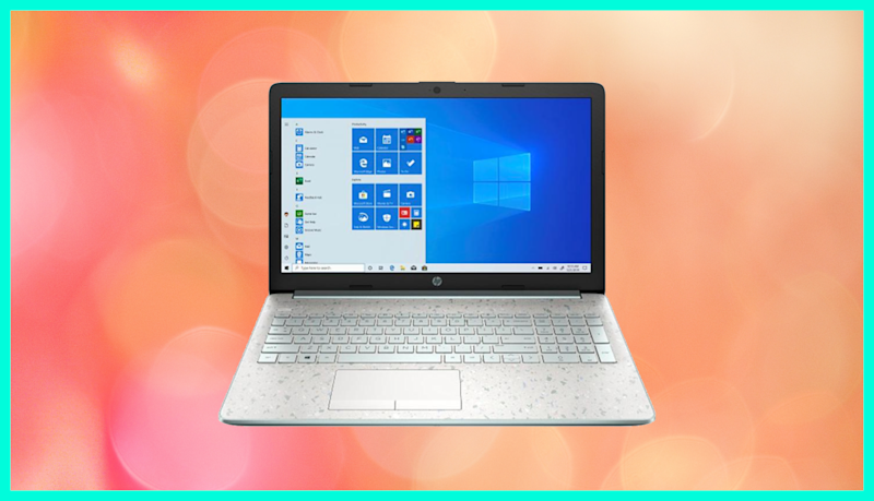 The HP 15 Touch Laptop is on sale for $480. (Photo: HSN)