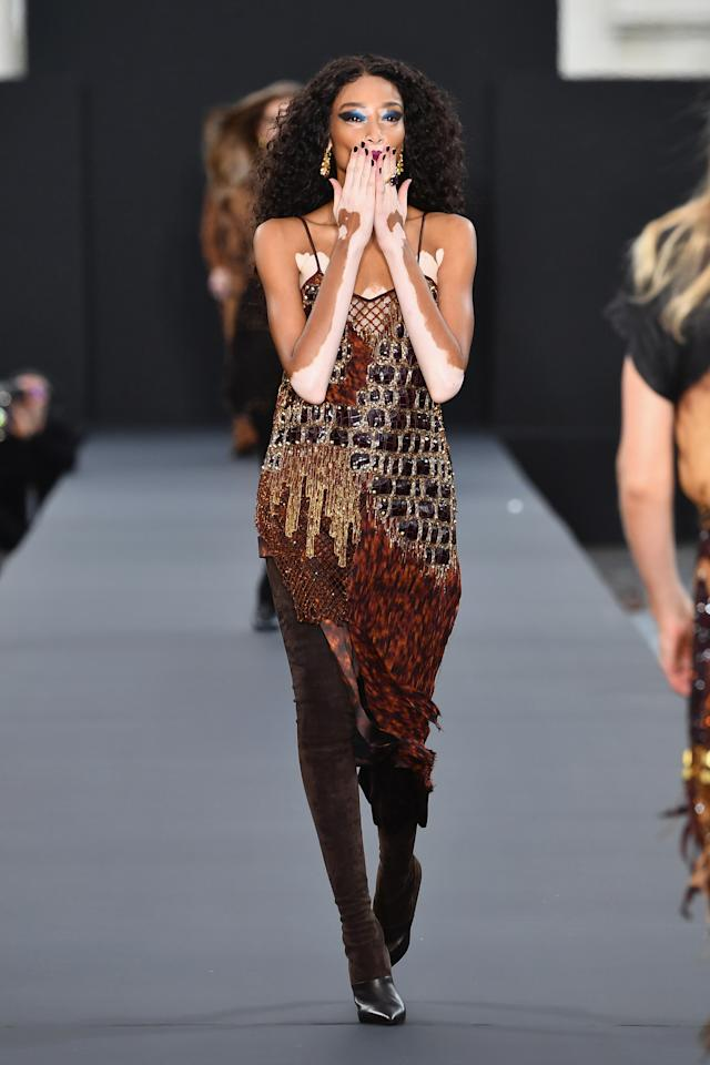 <p>L'Oreal proved its commitment to diversity by casting model Winnie Harlow. (Photo: Getty Images) </p>