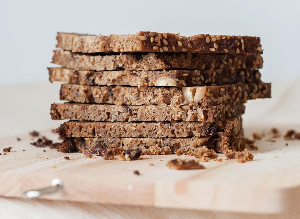 Sprouted grain bread