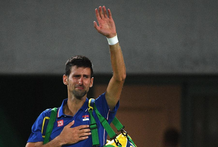 Serbia's Novak Djokovic has had a turbulent 2016 with shock exits from Wimbledon and the Rio Olympics (AFP Photo/Roberto Schmidt)