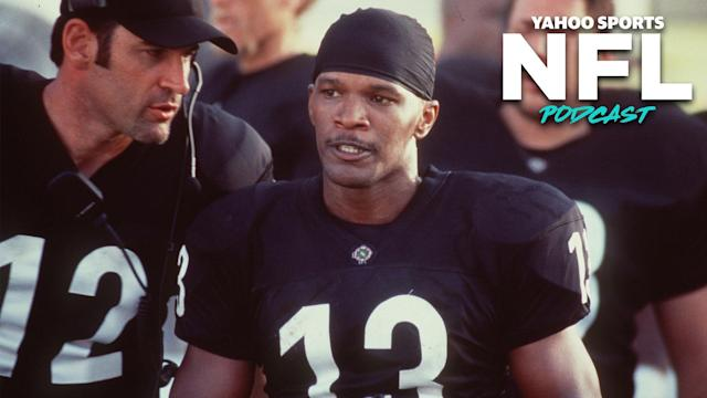 "Charles Robinson and Terez Paylor recap the 1999 Oliver Stone football epic ""Any Given Sunday"" on the Yahoo Sports NFL Podcast. (Photo by Getty Images)"