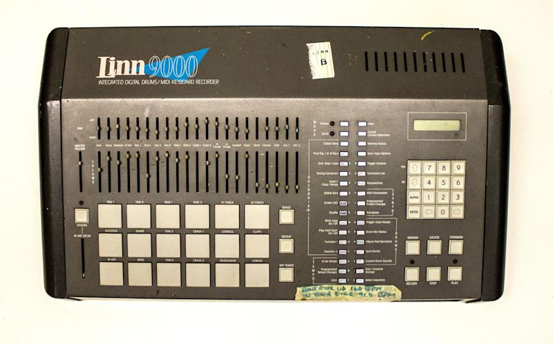 This Linn 9000 drum machine was used to record Peter Gabriel's 1986 best-selling album <em>So</em>. The 2014 Rock and Roll Hall of Fame Inductee exhibit opens May 31, 2014 in Cleveland, Ohio.