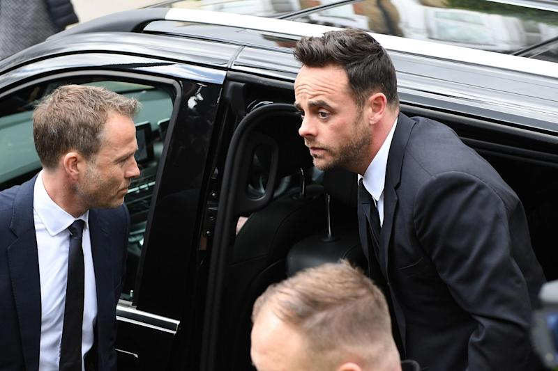 Support: Fans reached out to Ant McPartlin: Getty Images