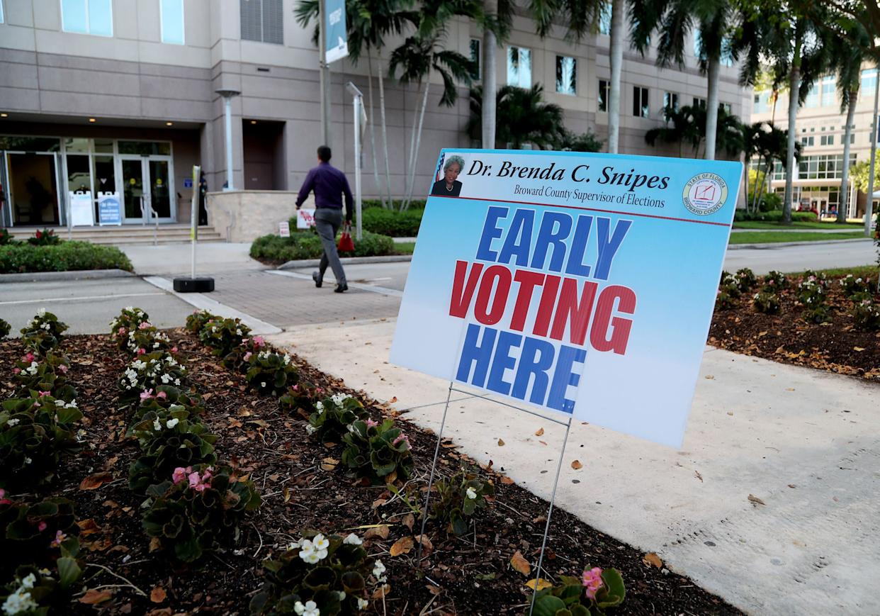 A federal judge ordered Florida to allow early voting at public university facilities last year. Now, the plaintiffs in that suit say Republicans are taking another approach to try and restrict early voting. (Photo: Sun Sentinel via Getty Images)