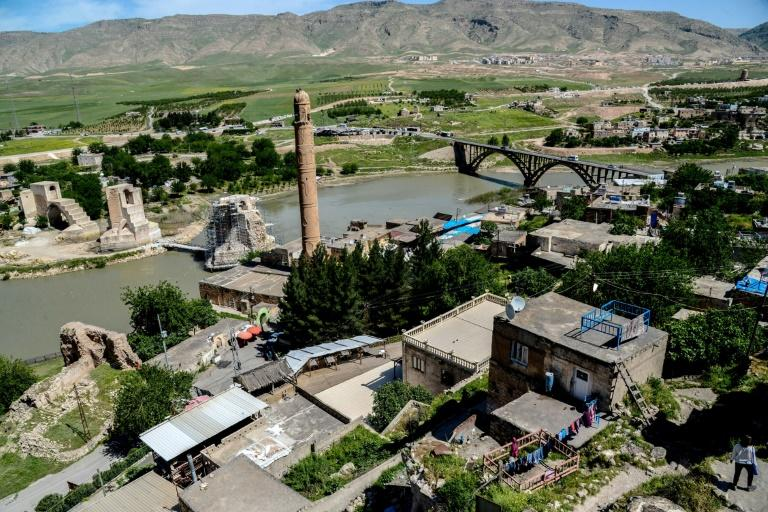 Turkish officials have promised to relocate the historic monuments of Hasankeyf before the town is flooded as part of a hydroelectric dam project