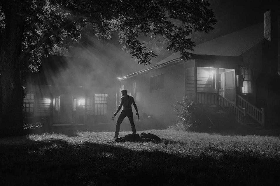 """<p>This moody black-and-white nighttime shot features Jackman's hero, alone, in the aftermath of a kill, giving its caption, 'Silence,' a double meaning. (Photo: <a rel=""""nofollow noopener"""" href=""""https://www.instagram.com/p/BM4Dyjcj0y7"""" target=""""_blank"""" data-ylk=""""slk:@wponx/Instagram"""" class=""""link rapid-noclick-resp"""">@wponx/Instagram</a>) </p>  <p>Choose Your 'Weapon'</p><p> Did you think Wolverine was going to restrict himself to just his adamantium claws in combat? Seems a steel rod of some sort may also come in handy as a tool of anti-Reaver destruction. (Photo: <a rel=""""nofollow noopener"""" href=""""https://www.instagram.com/p/BM4Dyjcj0y7"""" target=""""_blank"""" data-ylk=""""slk:@wponx/Instagram)"""" class=""""link rapid-noclick-resp"""">@wponx/Instagram)</a> </p>  <p> In this storyboard of Wolverine eyeing a motel from a distance, artist Gabriel Hardman captures the bleak, borderline-noir atmosphere sought by director James Mangold. (Photo:<a rel=""""nofollow noopener"""" href=""""https://twitter.com/mang0ld"""" target=""""_blank"""" data-ylk=""""slk:mang0ld/Twitter)"""" class=""""link rapid-noclick-resp""""> mang0ld/Twitter)</a> </p>  <p> Lest anyone think Hugh Jackman's post-apocalyptic Wolverine wasn't going to be a killing machine anymore, this low-angled storyboard image by Gabriel Hardman confirms he'll be engaged in plenty of adamantium-clawed action. (Photo: <a rel=""""nofollow noopener"""" href=""""https://twitter.com/mang0ld"""" target=""""_blank"""" data-ylk=""""slk:mang0ld/Twitter)"""" class=""""link rapid-noclick-resp"""">mang0ld/Twitter)</a> </p>  <p> Director James Mangold shared this black-and-white snapshot of the plains set beneath an imposing sky, captioned """"Open"""" — more evidence of a rough, hardscrabble Western vibe that will define this world-without-mutants tale. (Photo: <a rel=""""nofollow noopener"""" href=""""https://www.instagram.com/p/BMOwJ7hjyl_/"""" target=""""_blank"""" data-ylk=""""slk:wponx/Instagram"""" class=""""link rapid-noclick-resp"""">wponx/Instagram</a>) </p>  <p>Logan</p><p> In 'Logan,' Hugh Jackman's Wolverine has become a weathered de"""