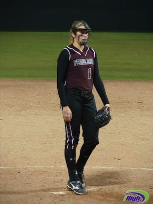 Pearland star pitcher Samantha Show struck out nearly two batters per inning — iHigh