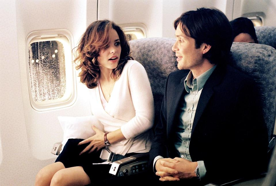 "<p>Rachel McAdams thinks she's got the best luck when she's seated next to a very charming Cillian Murphy on a red-eye flight, but it turns out he's kind of a terrorist and she's part of his master plan to assassinate the head of Homeland Security. If you've ever wanted to see Regina George really kick some serious butt, this is your chance.</p> <p><a href=""https://www.hulu.com/profiles?next=/watch/6b1fb060-ac25-499d-b3e2-60dfbbf211c2"" rel=""nofollow noopener"" target=""_blank"" data-ylk=""slk:Available to stream on Hulu"" class=""link rapid-noclick-resp""><em>Available to stream on Hulu</em></a></p>"