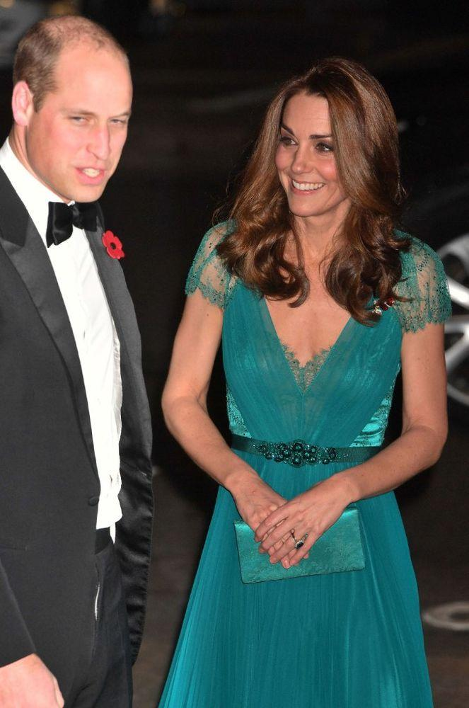 Prince William and Kate Middleton attend the 2018 Tusk Conservation Awards