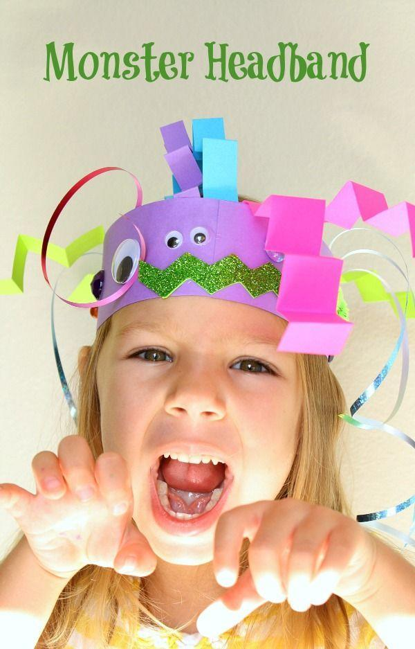 "<p>Dressing in costume isn't reserved for October 31. Encourage your kids to try out different characters all month long with these paper monster headbands.</p><p><em><a href=""https://www.fantasticfunandlearning.com/headband-monster-craft-kids.html"" rel=""nofollow noopener"" target=""_blank"" data-ylk=""slk:Get the tutorial at Fantastic Fun and Learning »"" class=""link rapid-noclick-resp"">Get the tutorial at Fantastic Fun and Learning »</a></em><br></p>"
