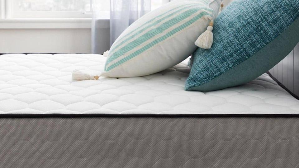 This Taylor & Olive memory foam mattress comes in both firm and plush models.