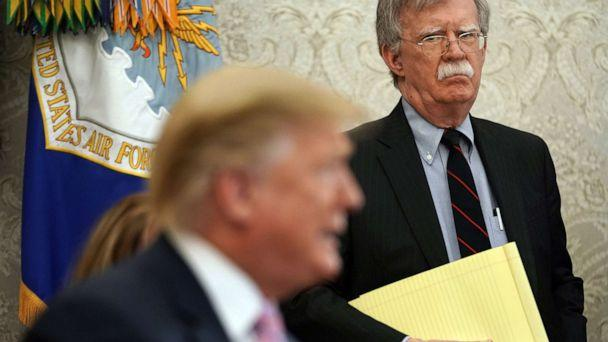 Bolton slams Trump's foreign policy
